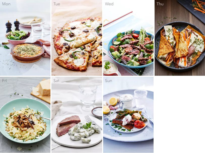New low-carb meal plan with bold flavors
