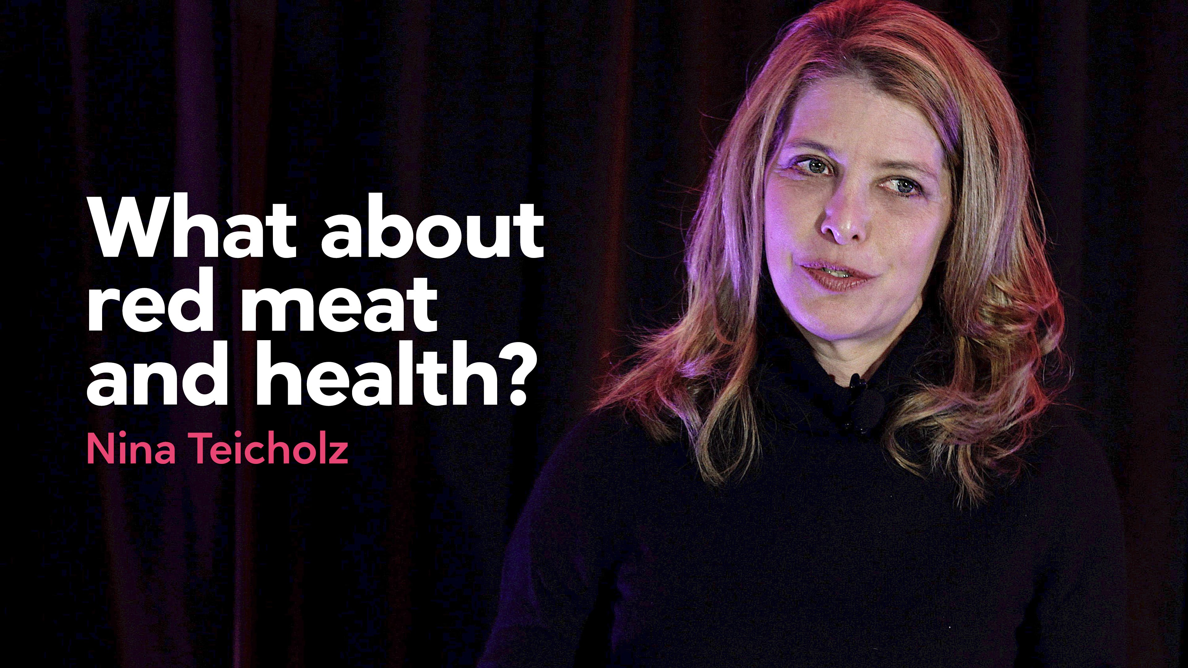 What about red meat and health?