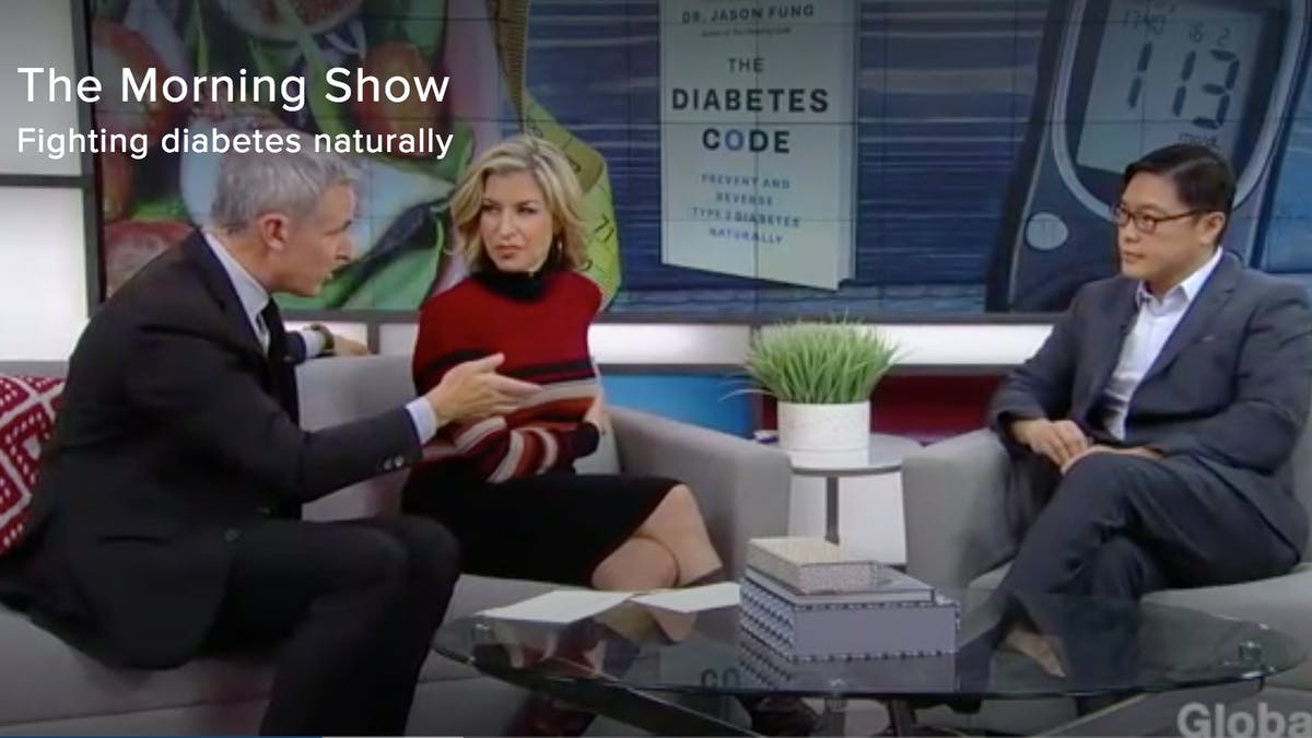 Dr. Fung talks reversing type 2 diabetes on the Morning Show