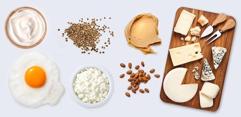 Keto vegetariškų baltymų šaltiniai
