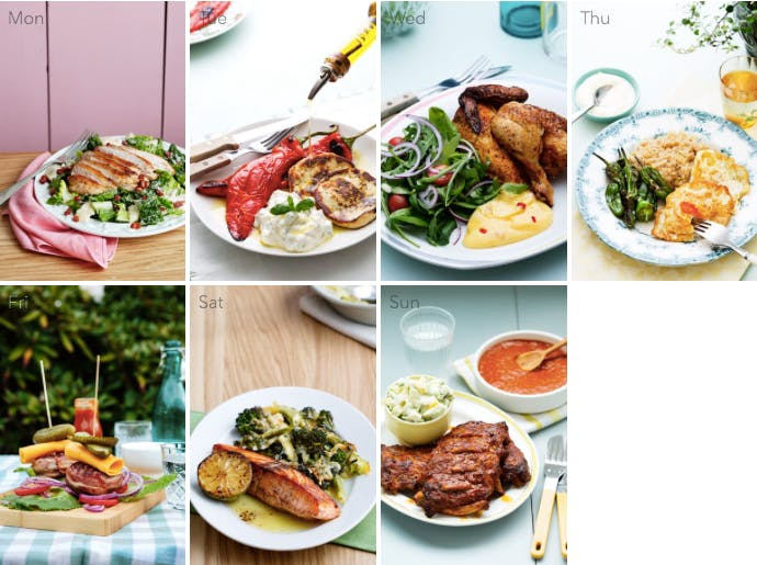This week's keto meal plan – summertime favorites