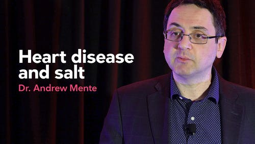 Heart disease and salt