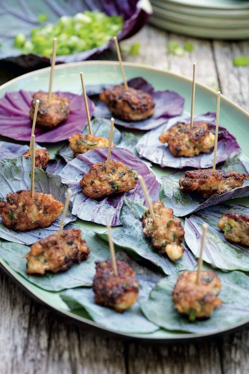 Wonderful shrimp fritters
