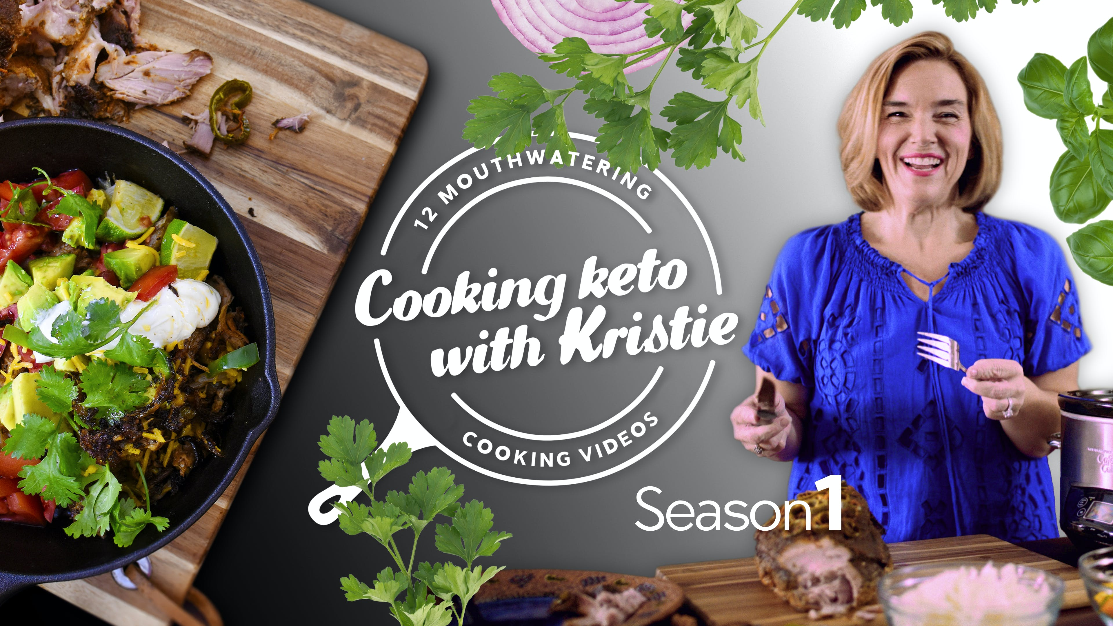 Season 1 trailer: Cooking Keto with Kristie