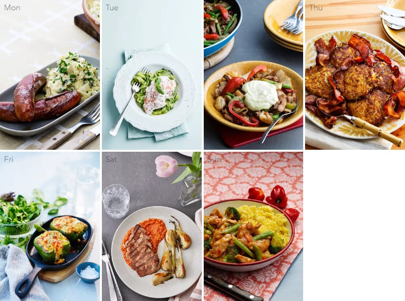 New low-carb meal plan – dinner in 30 minutes or less