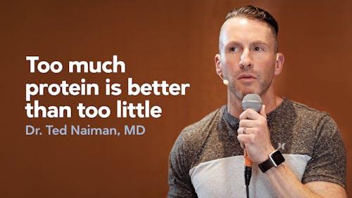 蛋白质太多总比蛋白质太少好。