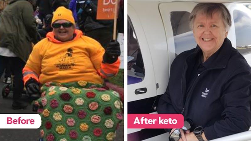 going for walks on keto diet