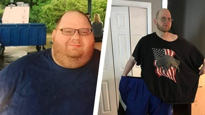 Man loses 250 pounds with keto and intermittent fasting