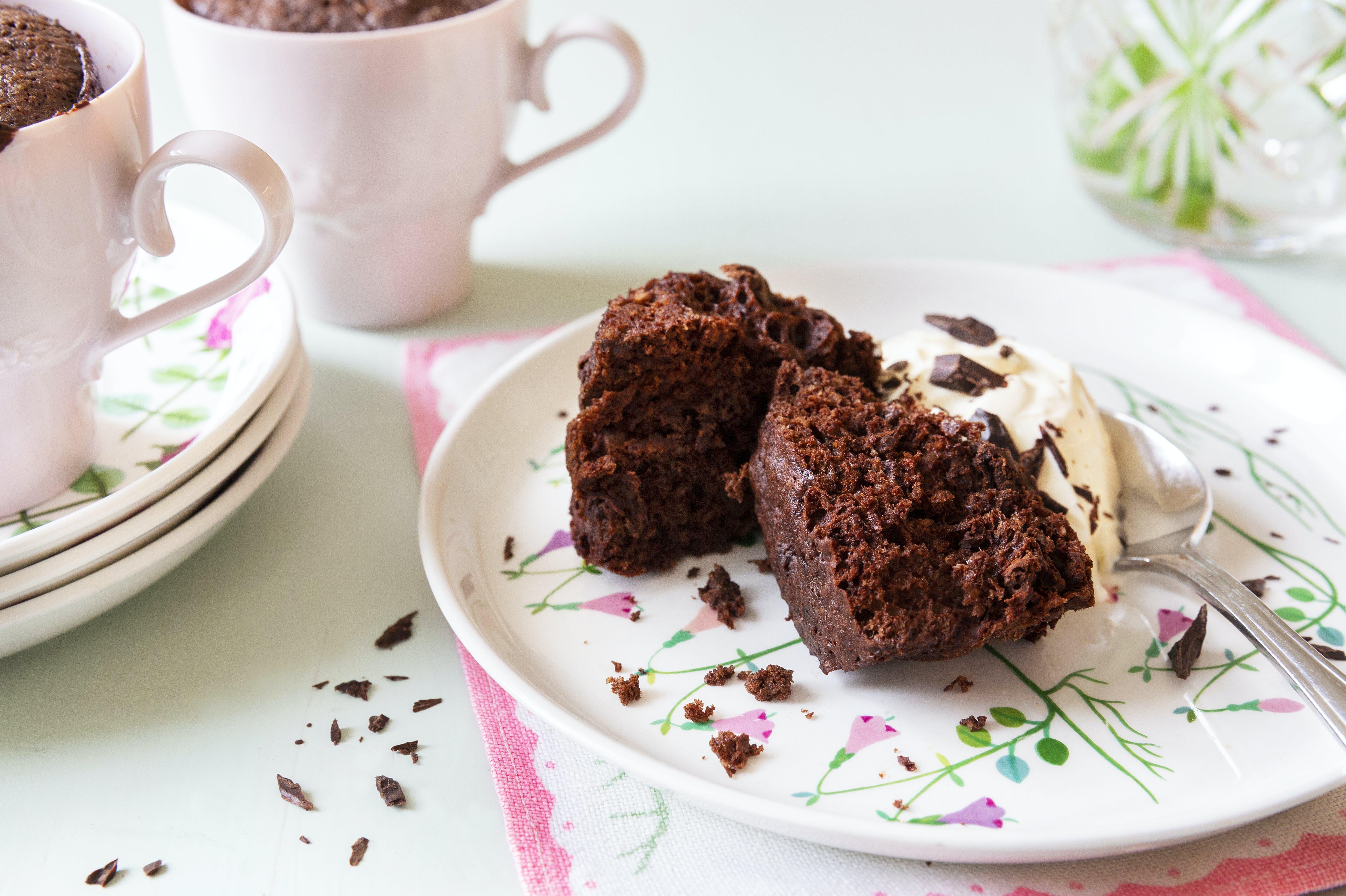 Keto Chocolate Muffin in a Mug — 5
