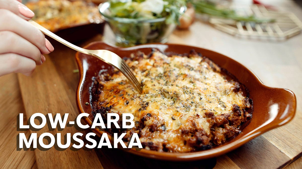 Jill's low-carb moussaka