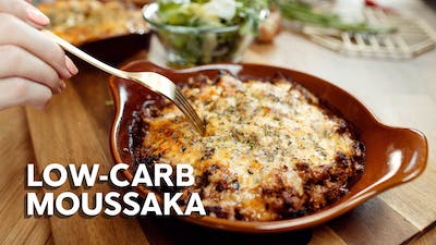 Jill's low-carb moussaka