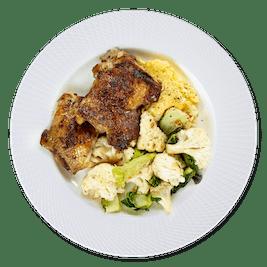 Dinner plate 150 g chicken