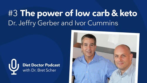 Diet Doctor Podcast with Dr. Jeffry Gerber and Ivor Cummins