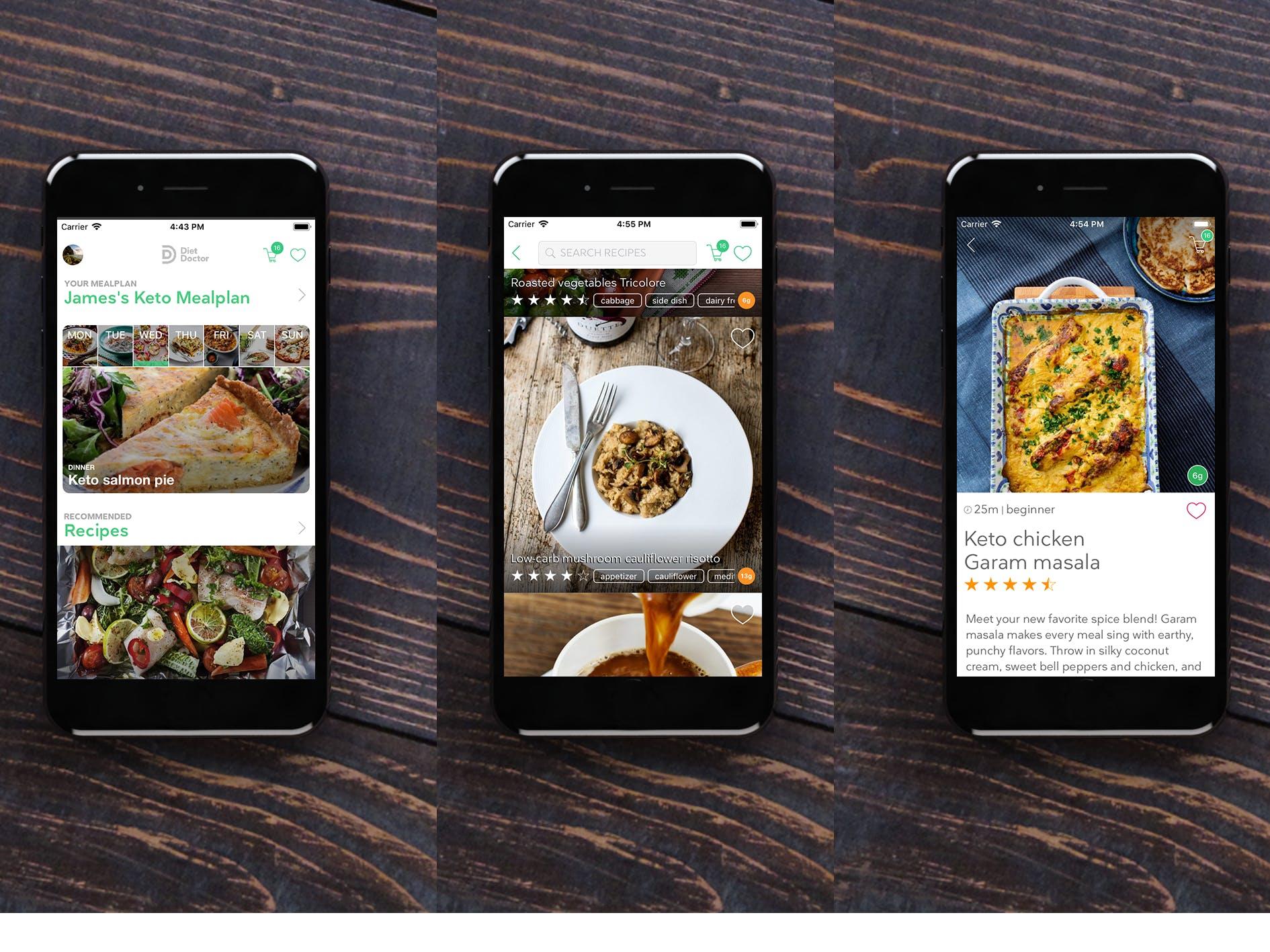Diet_Doctor_recipe_app_alpha_screenshots