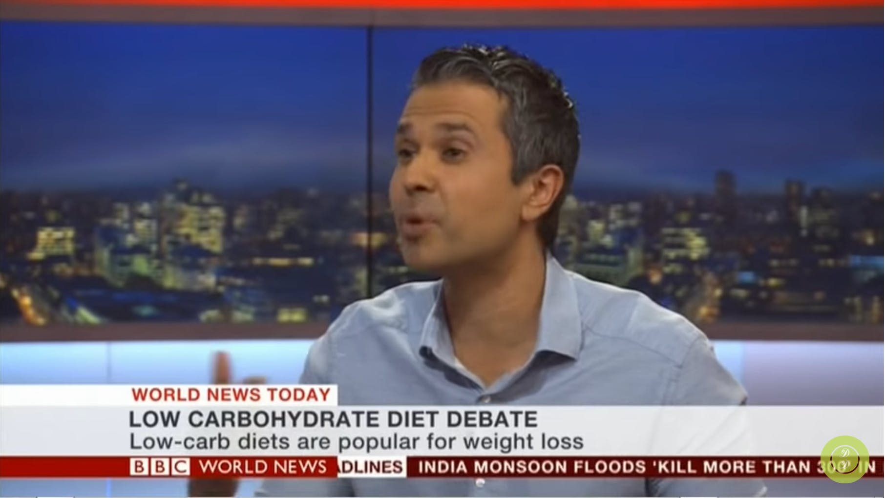 "Dr. Malhotra on BBC News: ""Claim that low-carb shortens lifespan is completely false"""