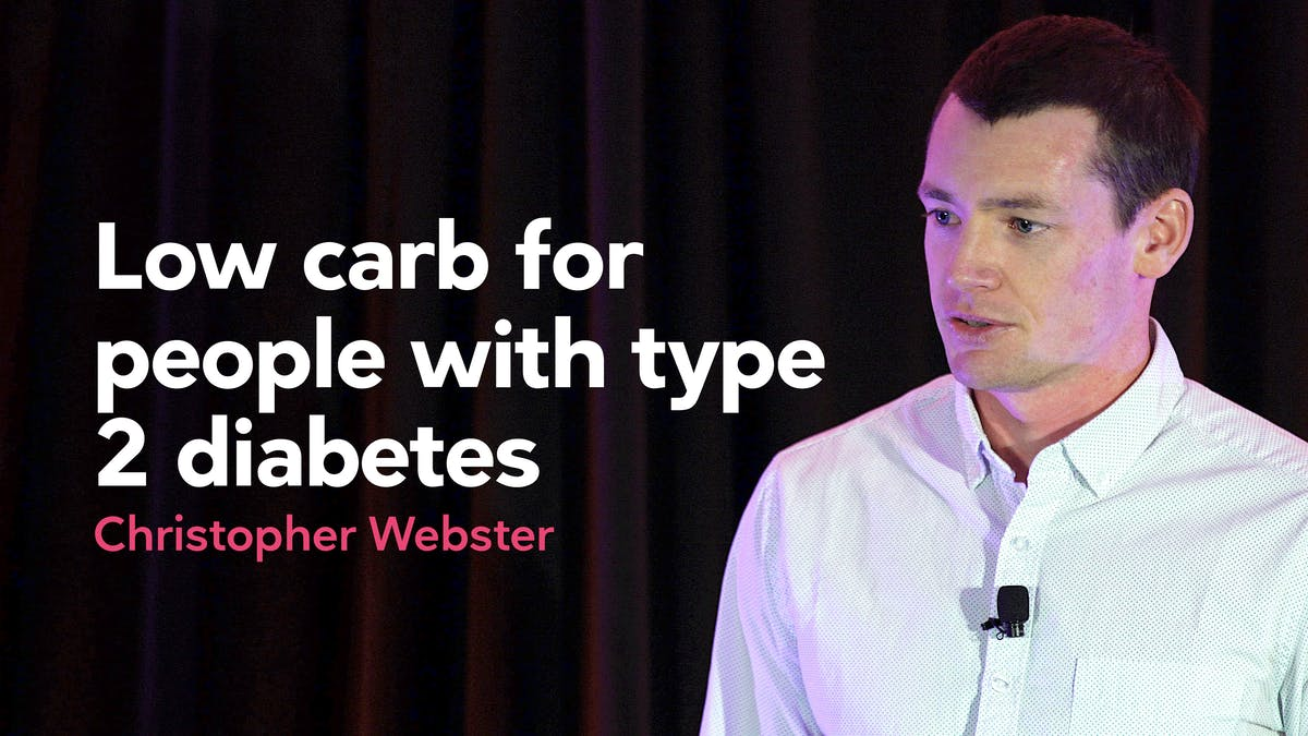 People with type 2 diabetes trying a low-carb diet
