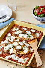 Low-carb chicken parmesan