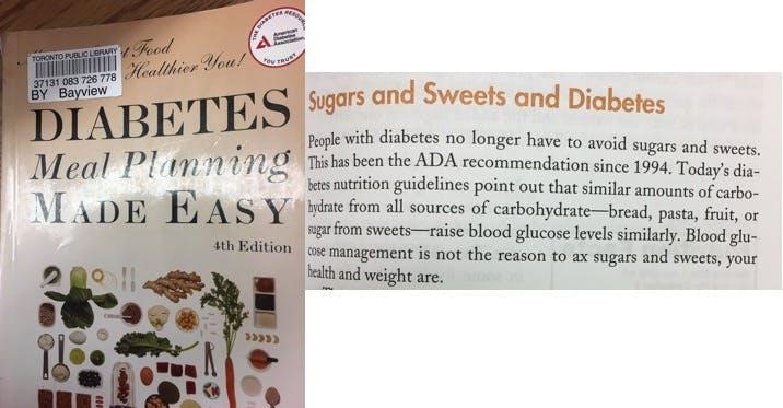 Diabetes meal planning