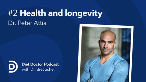 Diet Doctor Podcast with Dr. Peter Attia