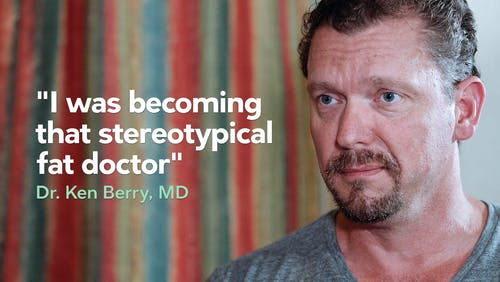 """I was becoming that stereotypical fat doctor"""