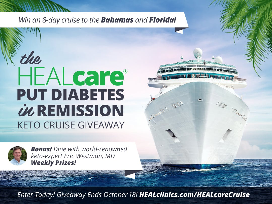 Win a trip for two to the Low Carb Cruise 2019 in the Caribbean!