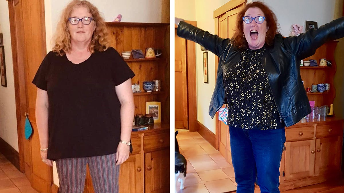 Jacquie after 6 months on keto