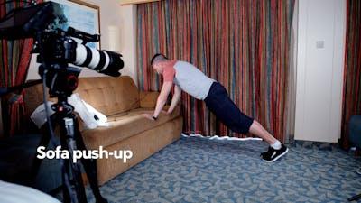 初学者的体重训练。泰德·奈曼