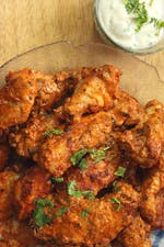 Keto butter chicken wings
