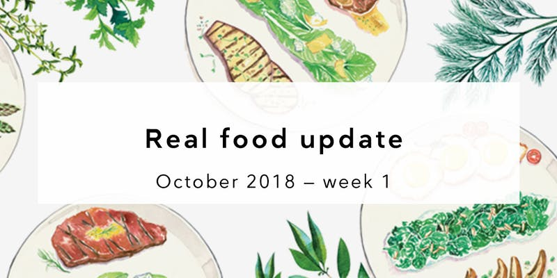 real food news summary