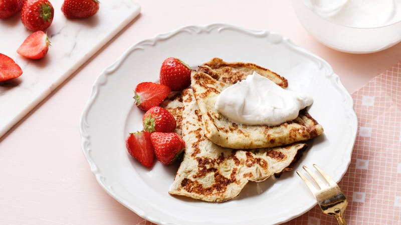 Keto French pancakes