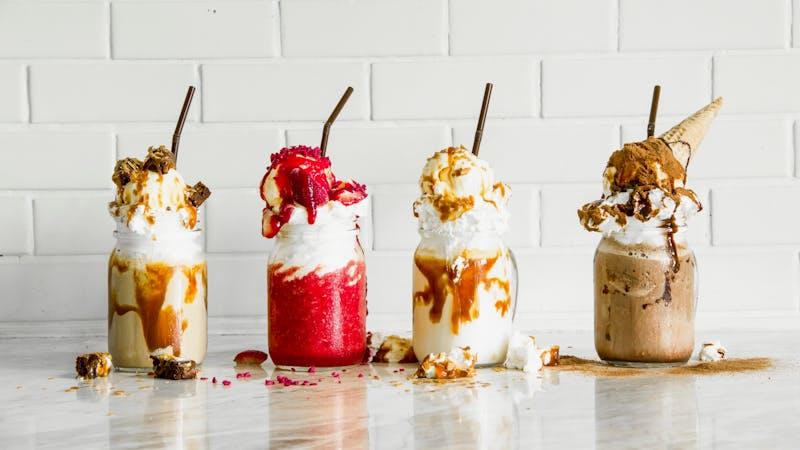 Freakish milkshakes