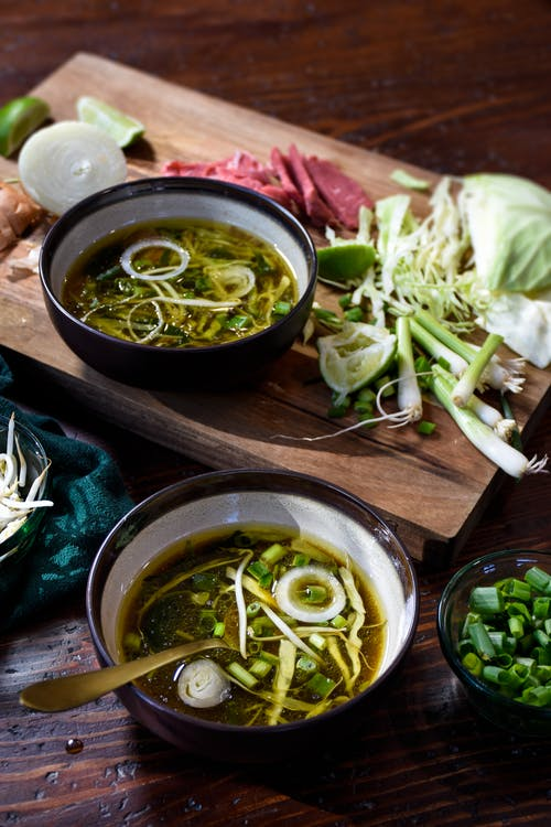 Low-carb Vietnamese pho