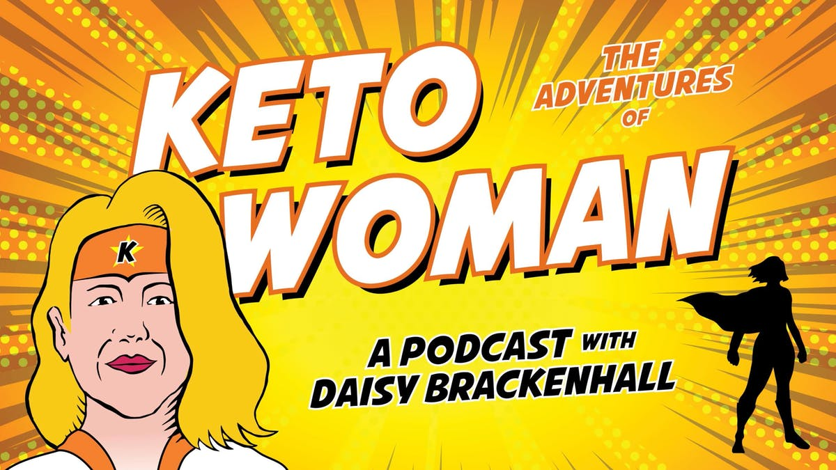 Dr. Eenfeldt about the past and future of Diet Doctor, on the Keto Woman Podcast