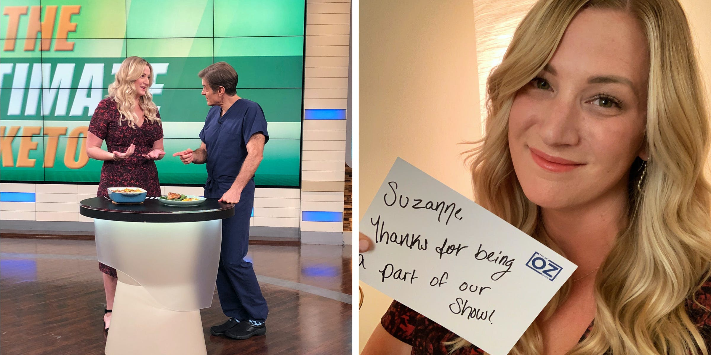 Dr. Oz with Suzanne Ryan