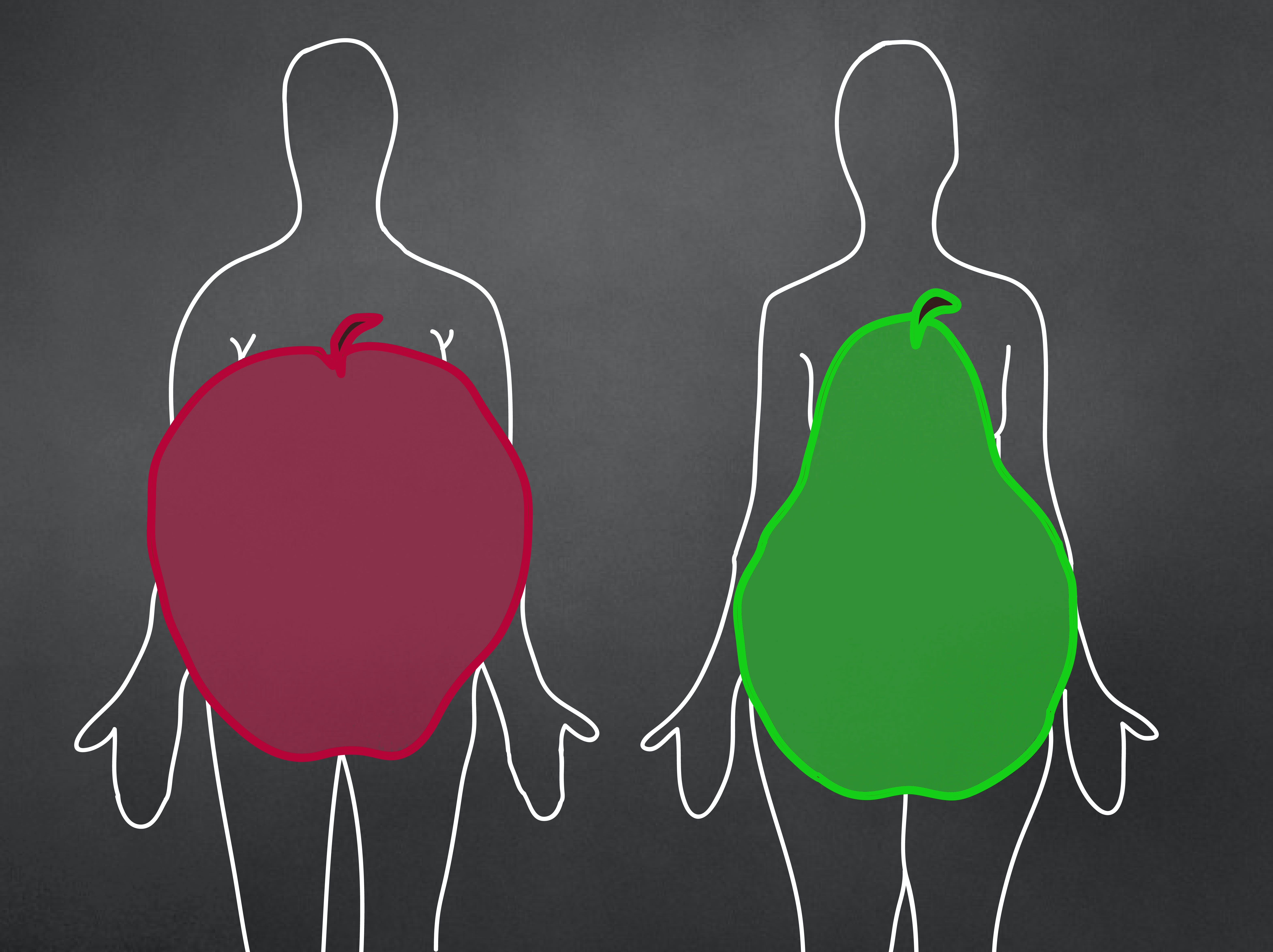 belly fat vs sub-cutaneous fat