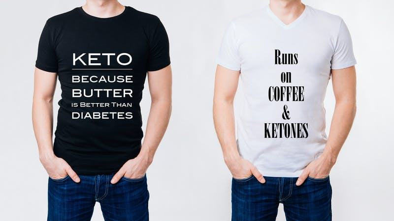 keto gifts - amusing t-shirt