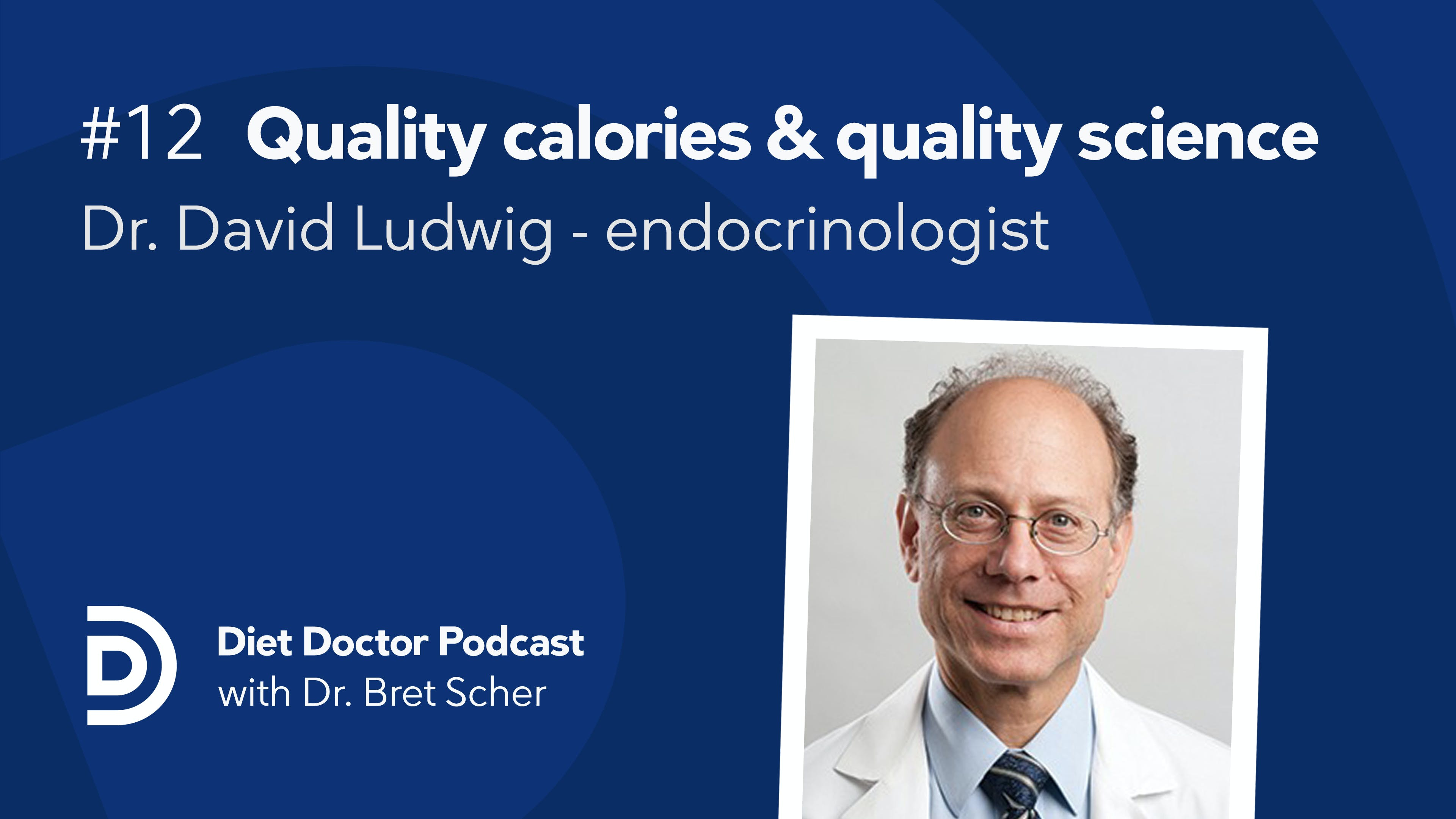 Diet Doctor podcast #12 with David Ludwig
