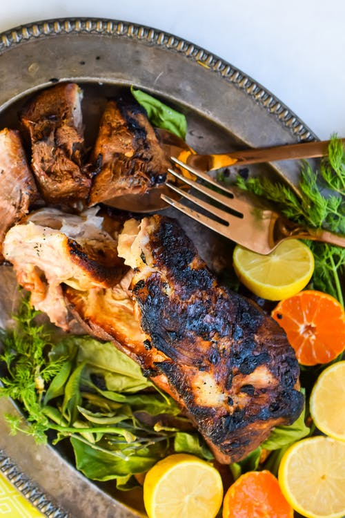 Crispy Cuban roast pork (Lechon asado)