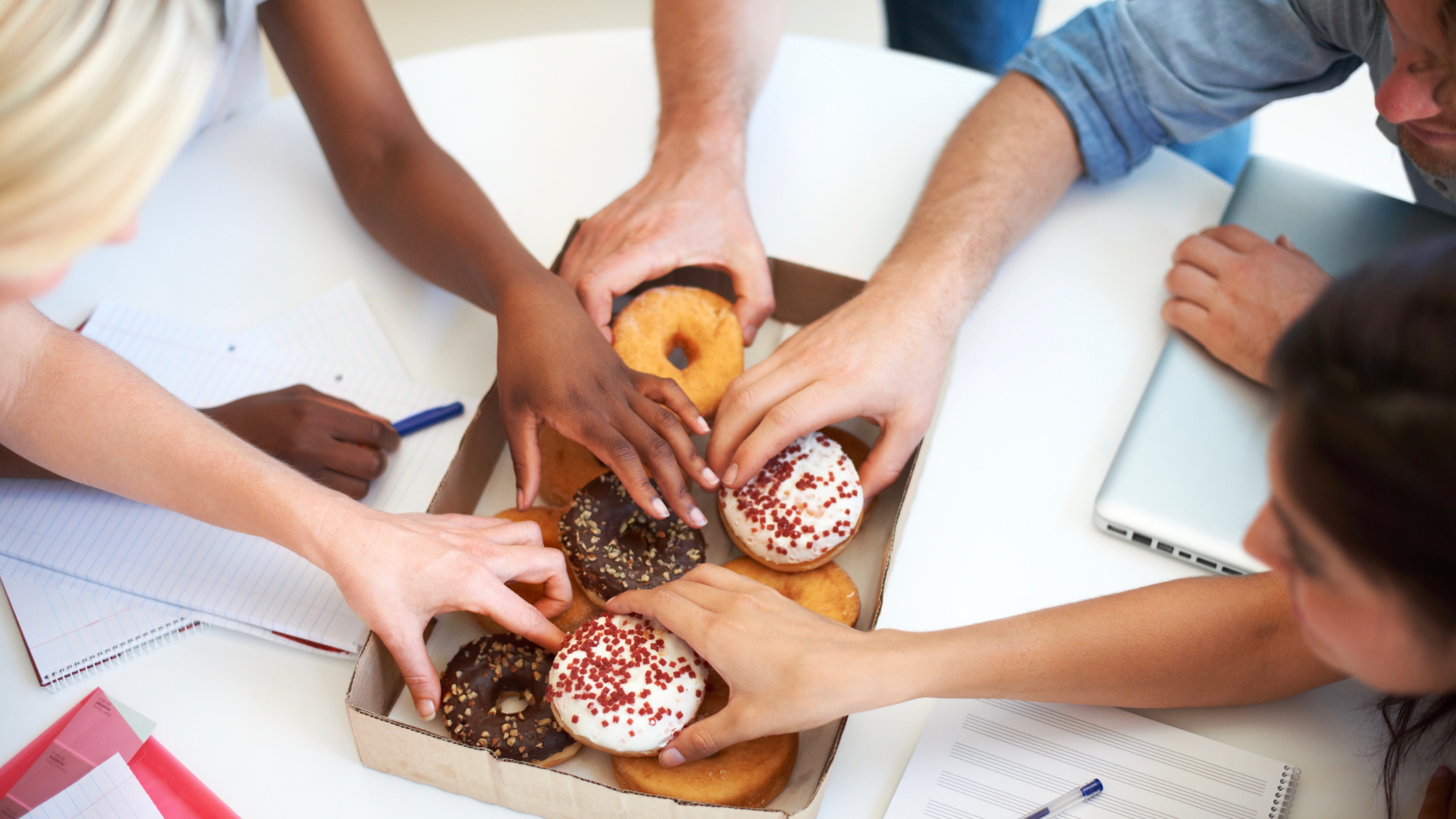 Doughnuts at the office