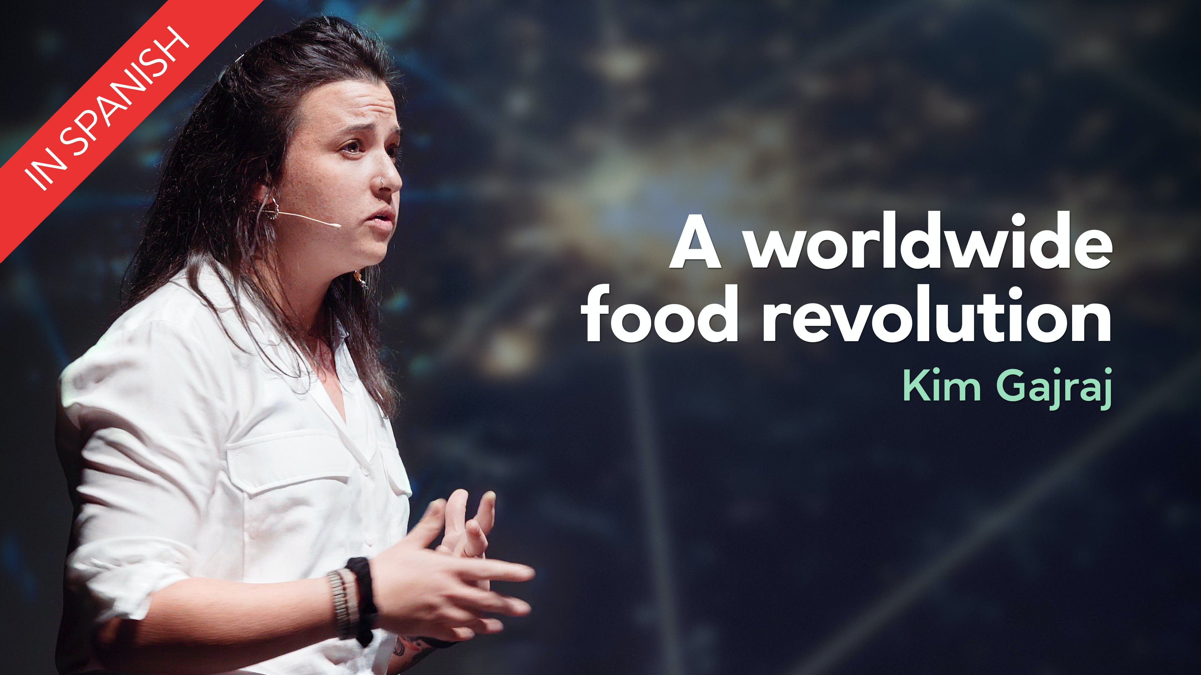 A worldwide food revolution – Kim Gajraj