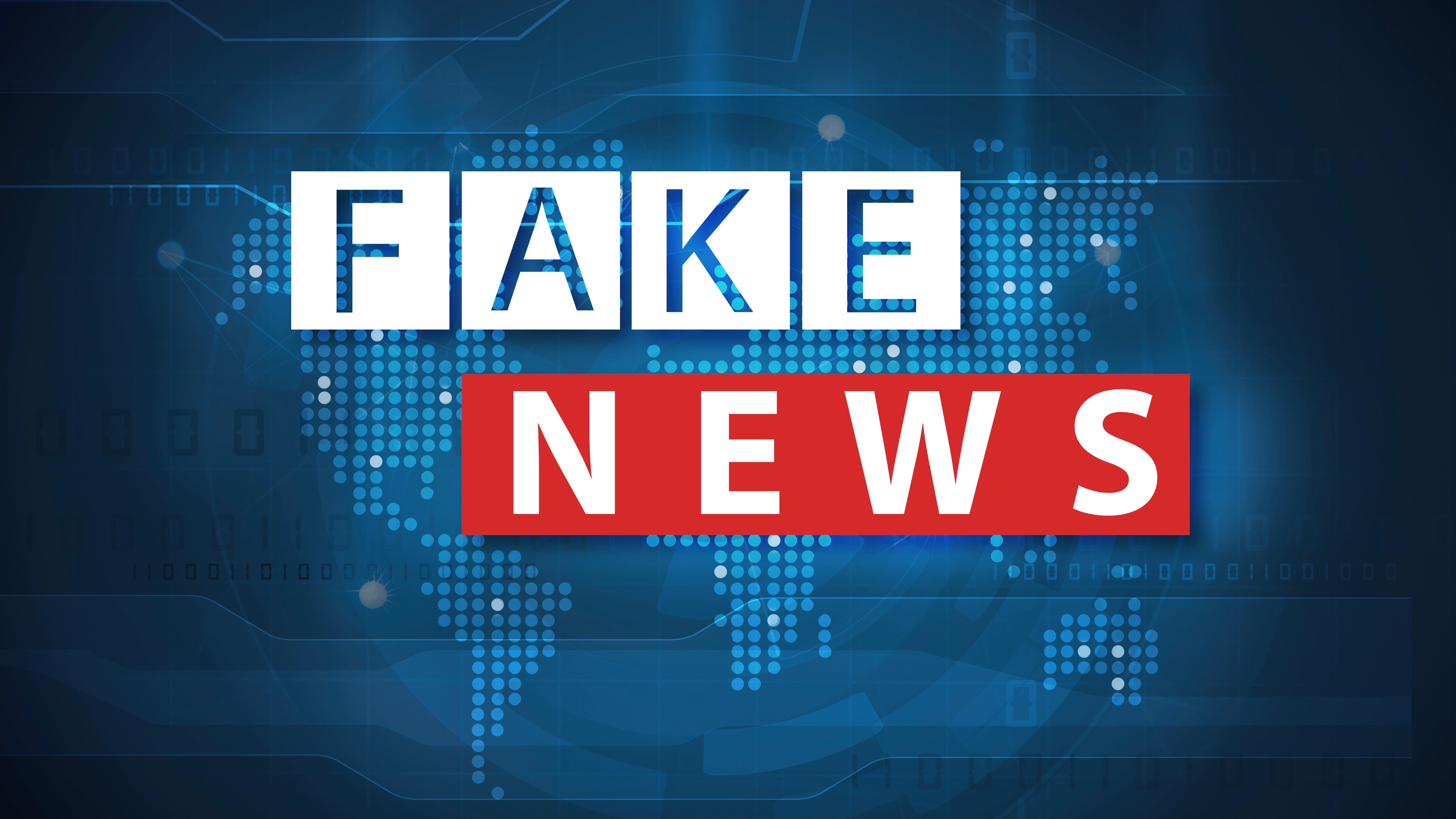 fake news and misinformation concept