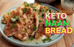 Make your own keto naan bread