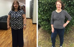 Rachel 20 months after being diagnosed with type 2 diabetes