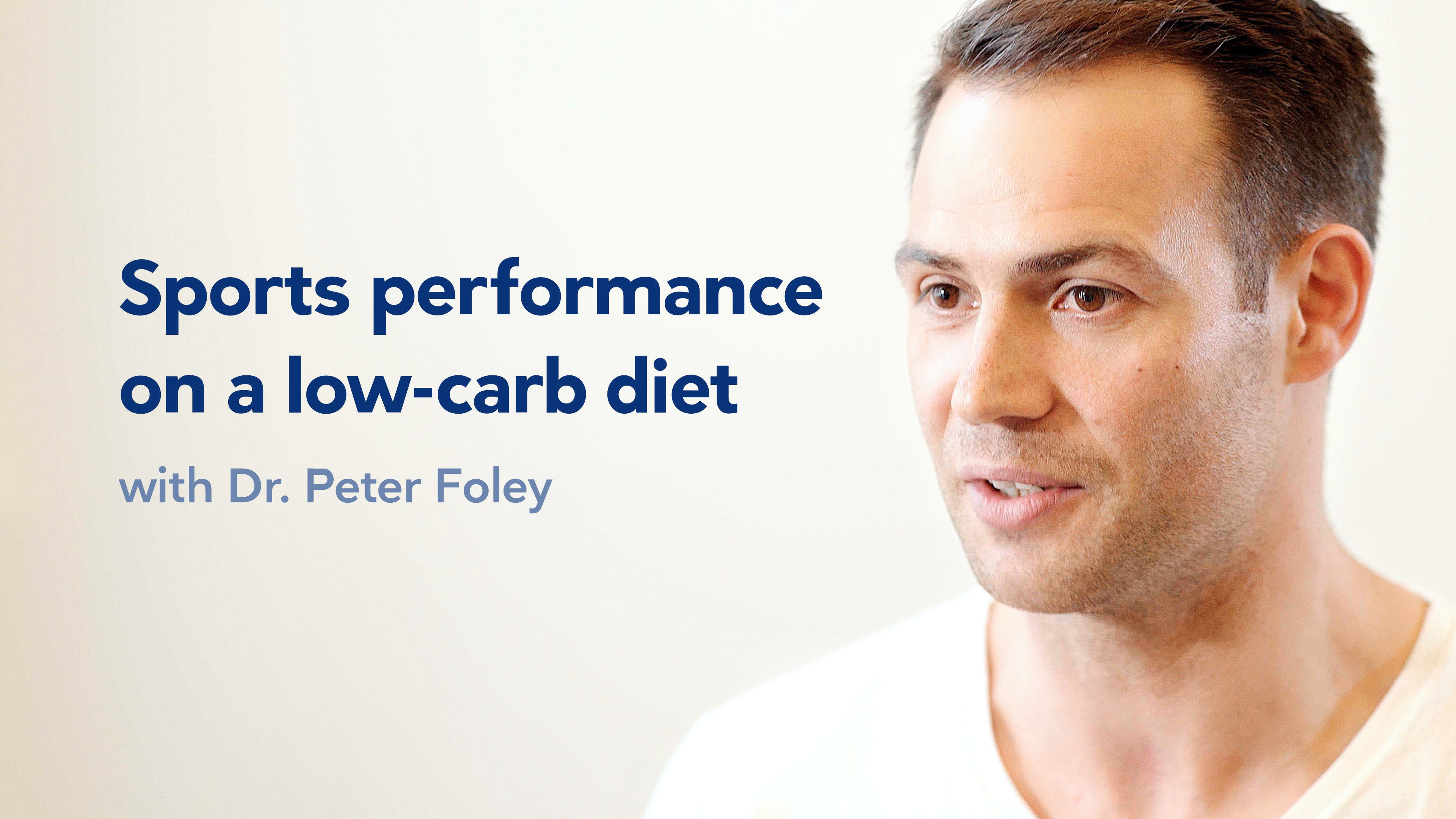 A low-carb story with Dr. Peter Foley, part 2