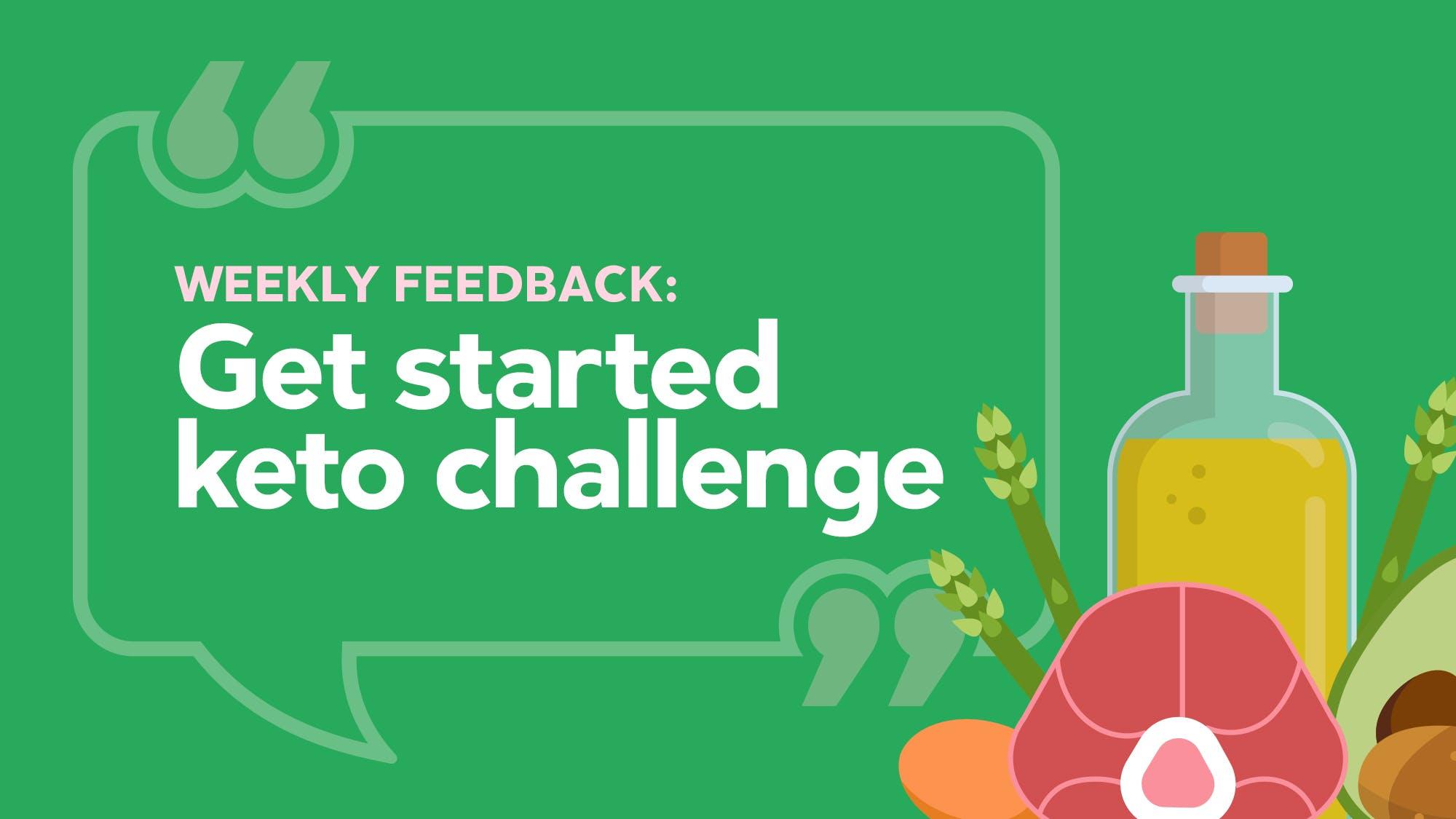 Weekly-feedback-16-9 &quot;class =&quot; taille-alignement complète wp-image-3469751 &quot;width =&quot; 800 &quot;height =&quot; 450 &quot;srcset =&quot; https://i.dietdoctor.com/wp-content/uploads/ 2019/01 / Weekly-feedback-16-9.jpg? Auto = compresser% 2Cformat &amp; w = 150 &amp; h = 84 &amp; fit = rogner 150w, https: //i.dietdoctor.com/wp-content/uploads/2019/01/Weekly-feedback -16-9.jpg? Auto = compresser% 2Cformat &amp; w = 200 &amp; h = 113 &amp; fit = rogner 200w, https: //i.dietdoctor.com/wp-content/uploads/2019/01/Weekly-feedback-16-9.jpg? auto = compresser% 2Cformat &amp; w = 267 &amp; h = 150 &amp; fit = rogner 267w, https: //i.dietdoctor.com/wp-content/uploads/2019/01/Weekly-feedback-16-9.jpg? auto = compresser% 2Cformat &amp; w = 400 &amp; h = 225 &amp; fit = crop 400w, https: //i.dietdoctor.com/wp-content/uploads/2019/01/Weekly-feedback-16-9.jpg? Auto = compresser% 2Cformat &amp; w = 800 &amp; h = 450 &amp; fit = recadrer 800w, https : //i.dietdoctor.com/wp-content/uploads/2019/01/Weekly-feedback-16-9.jpg? auto = compresser% 2Cformat &amp; w = 1600 &amp; h = 900 &amp; fit = rogner 1600w &quot;tailles =&quot; (largeur maximale: 769px) 100vw, (largeur minimale: 1200px) 800px, calc (100vw - 300px) &quot;/&gt;  <p>Plus de <strong><big>795 000</big></strong>    les gens se sont inscrits à notre défi gratuit céto à faible teneur en glucides, qui dure deux semaines. Vous bénéficierez de conseils, de plans de repas, de recettes, de listes de courses et de conseils de dépannage gratuits &#8211; tout ce dont vous avez besoin pour réussir votre régime céto.</p> <p>Voici de nouvelles histoires inspirantes de personnes qui ont relevé le défi:</p> <h3>Retour d&#39;information</h3> <blockquote> <p><strong>Salut les gars,</strong></p> <p>J&#39;ai complété le défi de deux semaines et je suis excité. </p> <p>En deux semaines, j&#39;ai perdu 4 kilos (9 livres). Mon poids de départ était de 91 kilos (200 livres), ma taille de 165 cm et mon âge de 32 ans. Après deux semai