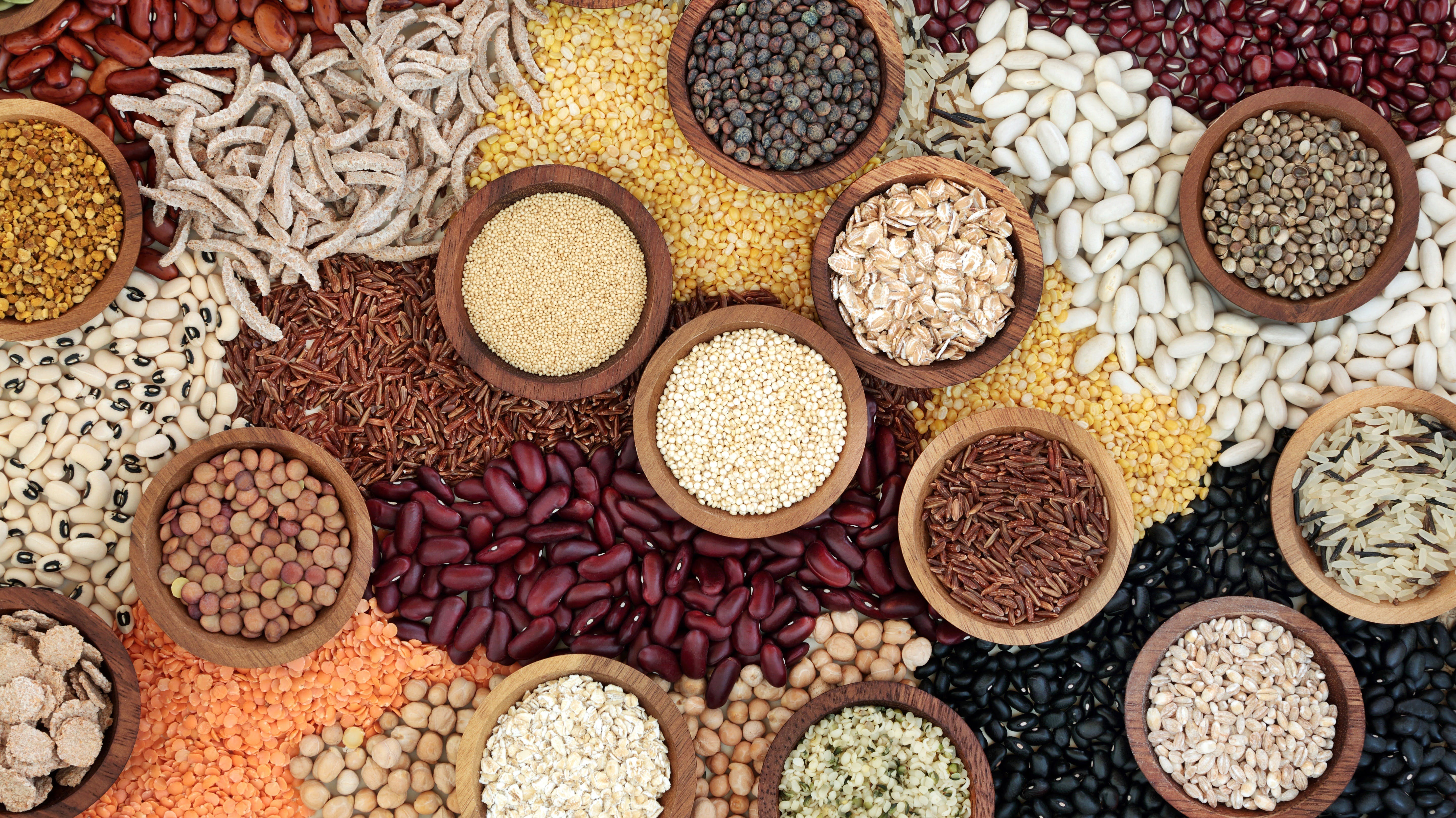Dried Health Food Background