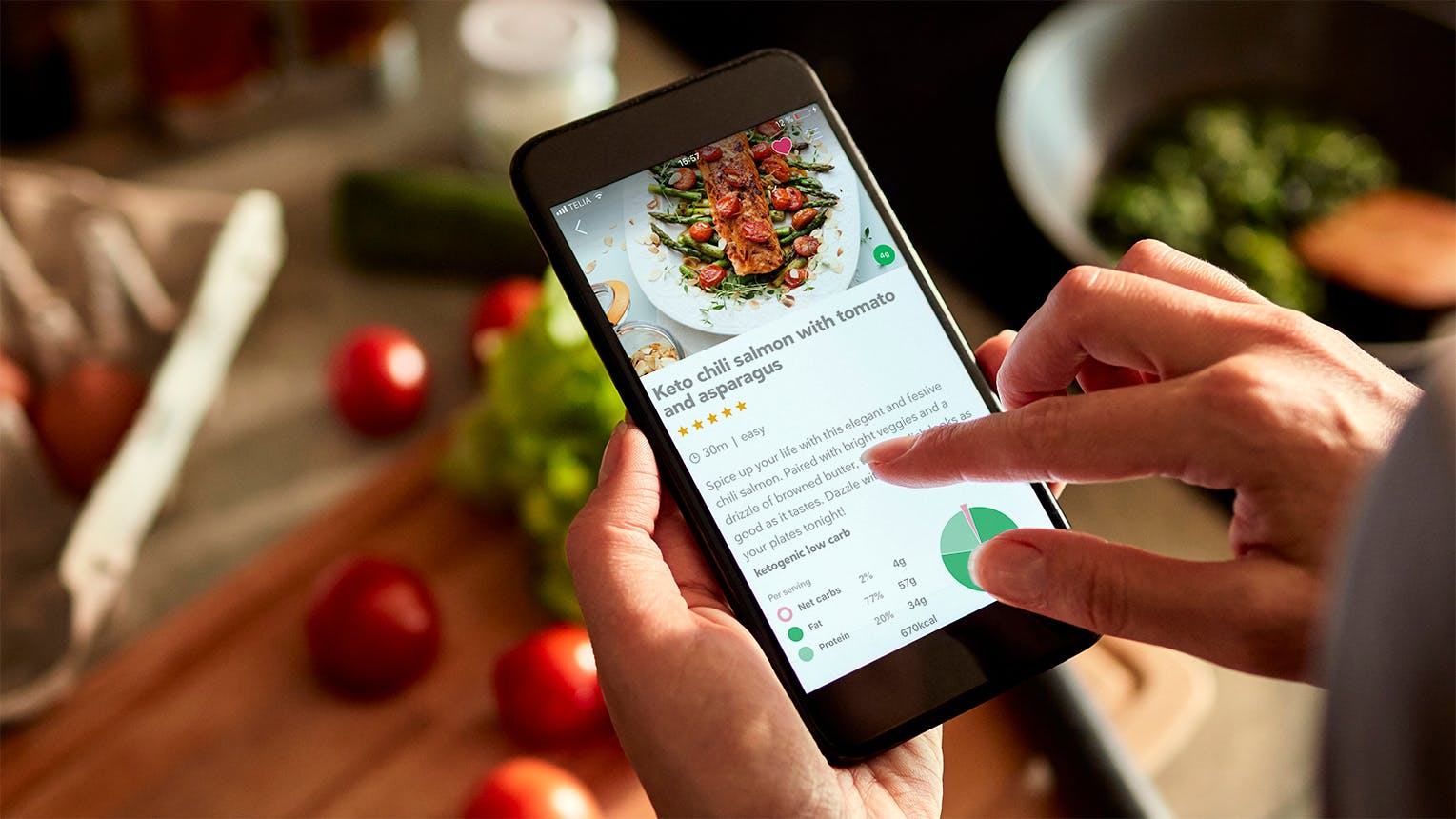We just launched our first app: DietDoctorEat!