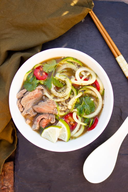 Zoodle Pot beef pho