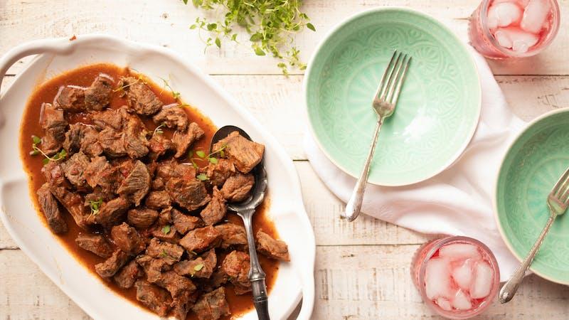 Instant Pot Italian Beef Tips - Maria Emmerich