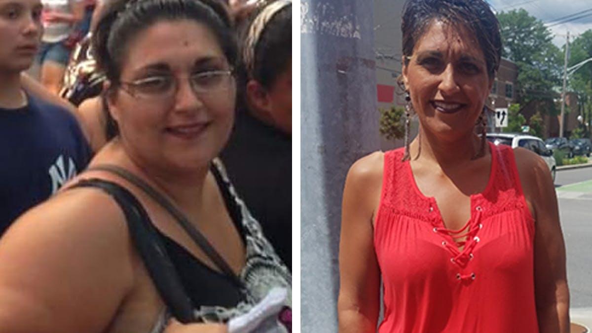 Antonietta lost 150 pounds on the keto diet